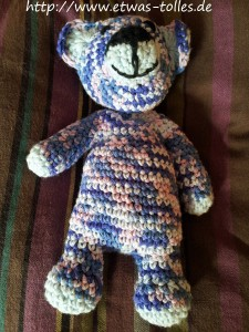Ein Wärme-Teddy für die Schnegge