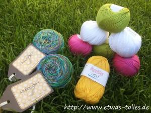 Maschenkunst Ausbeute Wolle