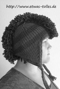 Mohawk-Earflap-Mütze