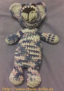 Wärmestofftier Teddy Front
