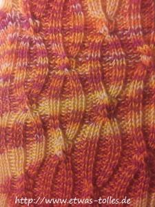 Muster der Par-5-Socks im Detail
