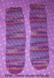 Fertige Toe-Up-Babysocken Spiralsocken