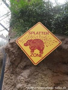 Warnhinweis Nilpferd