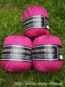 Zufallsschnäppchen Wolle in Pink
